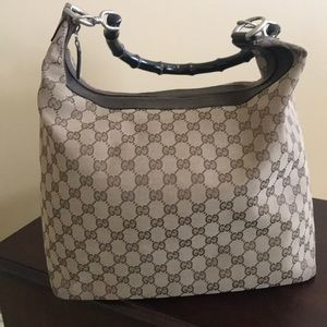 Authentic Gucci Brown, Large Hobo bag